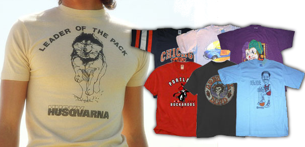 Vintage T shirts Wholesale