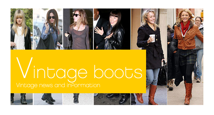 vintage women's boots wholesale