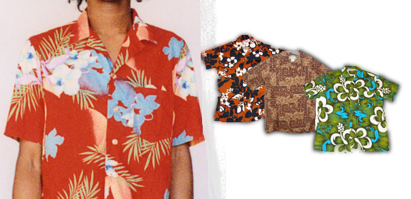 Vintage hawaiin shirts